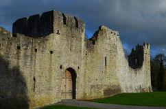 Thick Castle Walls at Desmond Castle in Ireland Stock Images