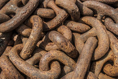 Thick Chain Stock Photography