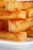 Thick chips Stock Photos