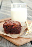 Big Fat Brownies Stock Photo