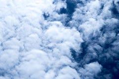 Thick cloud of smoke Stock Photo