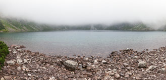 Thick clouds over Black Lake Stock Photography