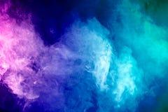 Thick colorful smoke Stock Photography