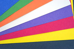 Thick craft paper Stock Image