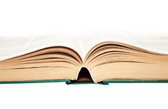 The thick educational book Stock Image