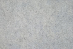 Thick Felt. Fragment of grey thick felt material Royalty Free Stock Photography