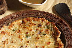 Thick flatbread/Chapati from India Royalty Free Stock Photos