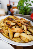 Thick french fries Royalty Free Stock Image