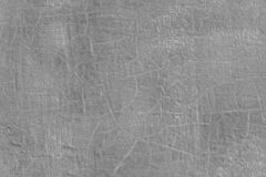 Thick fresh gray oil paint on flat steel surface seamless texture with old cracks under it.  royalty free stock image