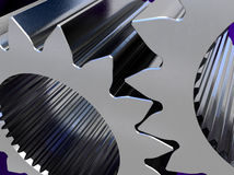 Thick gears Stock Photo