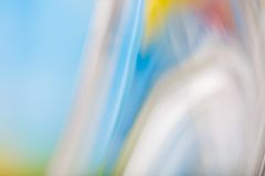 Thick glass abstract Stock Image