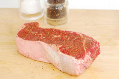 Thick Juicy Steak Royalty Free Stock Images