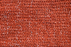 Thick Orange Cable Knit Sweater Fabric Background Royalty Free Stock Photo