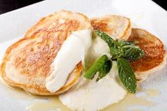 Thick pancake Stock Photography