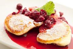 Thick Pancake Royalty Free Stock Photos