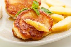 Thick Pancake Royalty Free Stock Image