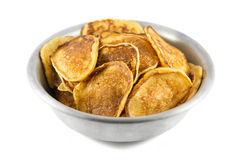 Thick pancakes Stock Photography