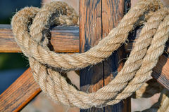 Thick rope Royalty Free Stock Image