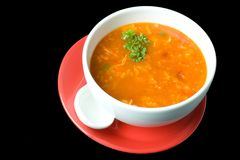 Thick Russian Soup 3 Royalty Free Stock Image
