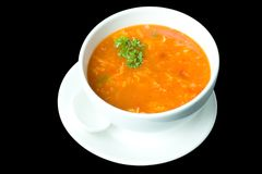 Thick Russian Soup 5 Stock Image