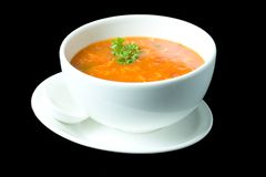 Thick Russian Soup 6 Stock Photo
