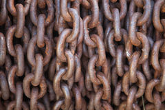 Free Thick Rusty Chain Background Royalty Free Stock Photo - 15764075