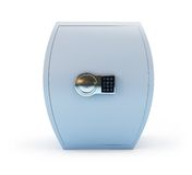 Thick safe. On a white background Stock Photo