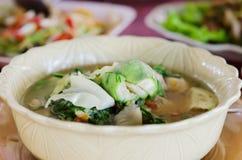 Thick soup Stock Photo
