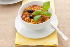 Thick soup Stock Image