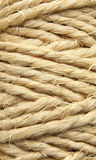 Thick string. Background texture. Abstract view of a thick string roll Royalty Free Stock Image