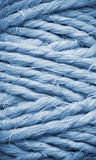Thick string. Background texture. Abstract view of a thick string roll Royalty Free Stock Photo