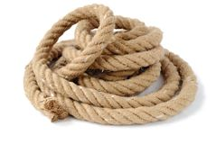 Thick strong rope Stock Photography