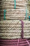 Thick strong rope Royalty Free Stock Photography