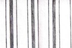 Thick and thin fabric stripes Stock Image