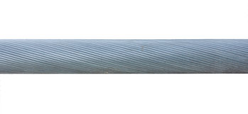 Thick twisted steel cable Royalty Free Stock Photos