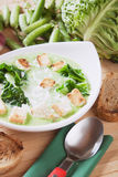 Thick vegetable soup Royalty Free Stock Image