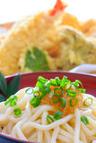Thick white noodles with grated radish Stock Photography