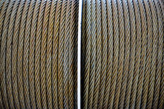Thick wire coil Stock Photos