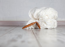 Thick Yarns Royalty Free Stock Photos