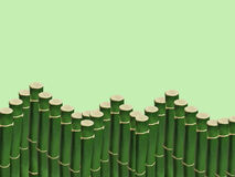 Thickets of young bamboo Royalty Free Stock Photo