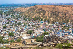 Thickly populated residential area India -2 Stock Image