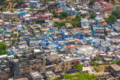 Thickly populated residential area India -3 Royalty Free Stock Photos