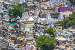 Thickly populated residential area India-4 Royalty Free Stock Photo