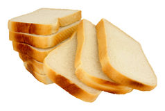 Thickly Sliced White Bread Loaf Royalty Free Stock Photo