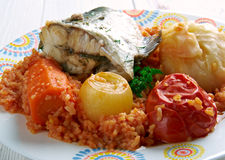Thieboudienne Royalty Free Stock Photography