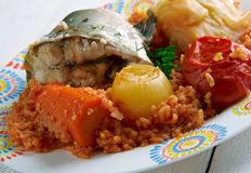 Thieboudienne Royalty Free Stock Image