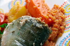 Thieboudienne Stock Image