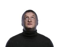 Thief in balaclava Stock Photos