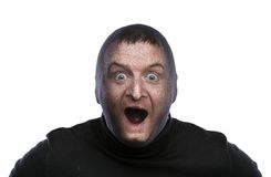 Thief in balaclava Royalty Free Stock Images