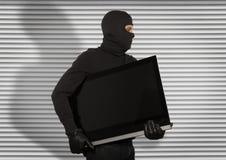 Thief with balaclava Stock Photography
